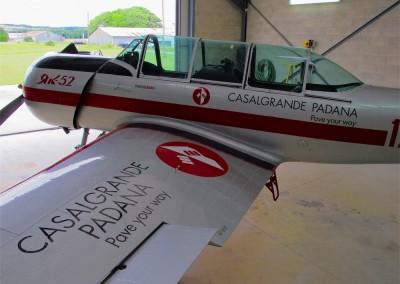 Découpe de lettrage, vinyle spécial aéronautique